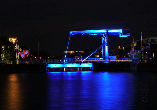 Blaue Brücke, Emden