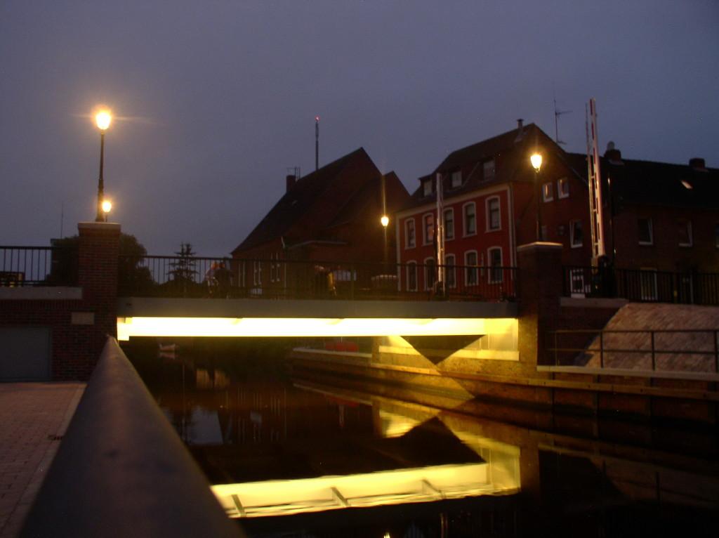 Brücke Rotes Siel Emden