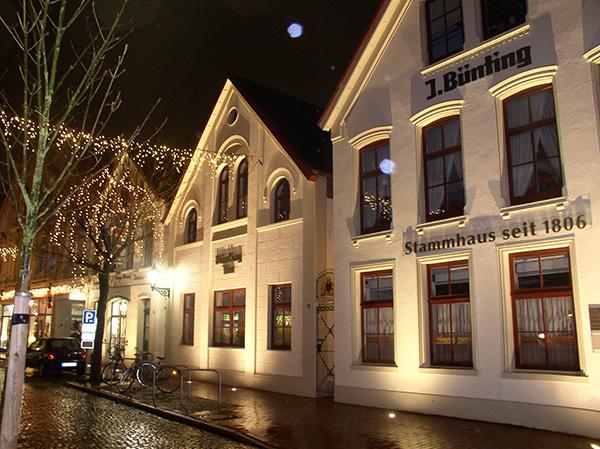 dts lichtgestaltung aktuelle Projekte * Bünting Stammhaus