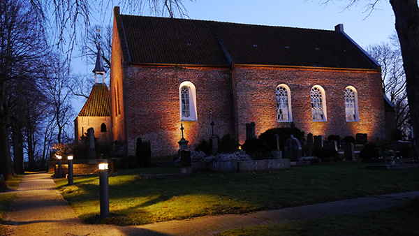 dts lichtgestaltug Kirche Holtgaste