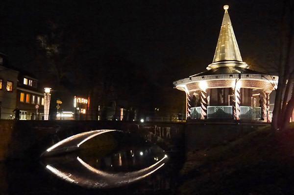 dts lichtgestaltung aktuelle Projekte Chinesischer Tempel Emden